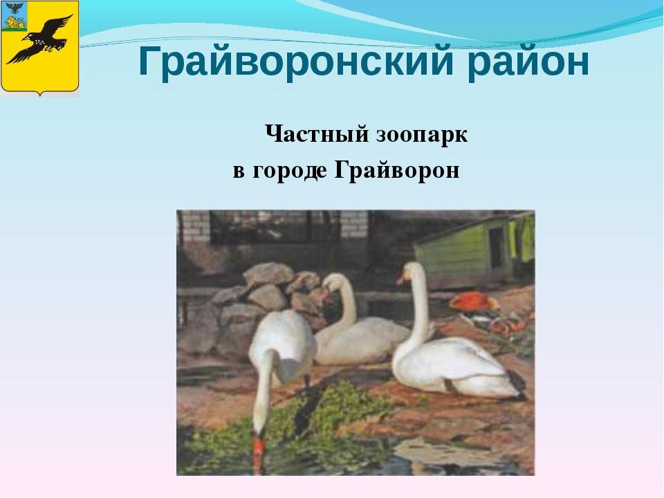 Грайворонский район Частный зоопарк в городе Грайворон Библиотека МОУ-СОШ № 7
