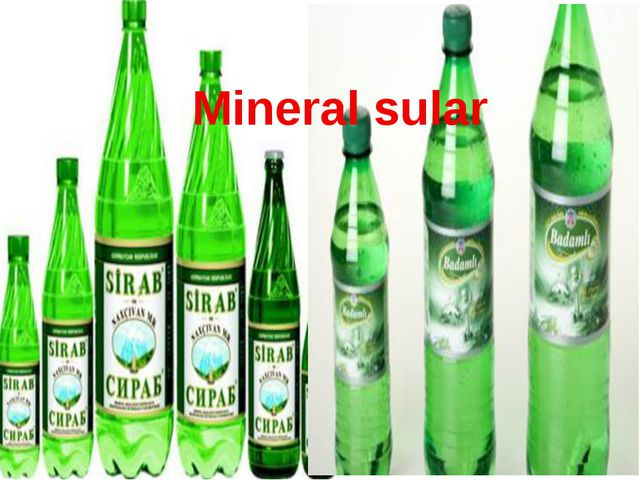 Mineral sular