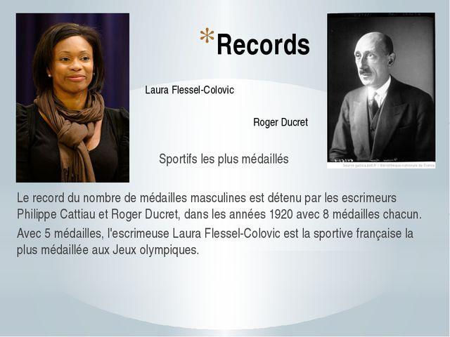 Records Sportifs les plus médaillés Le record du nombre de médailles masculin...