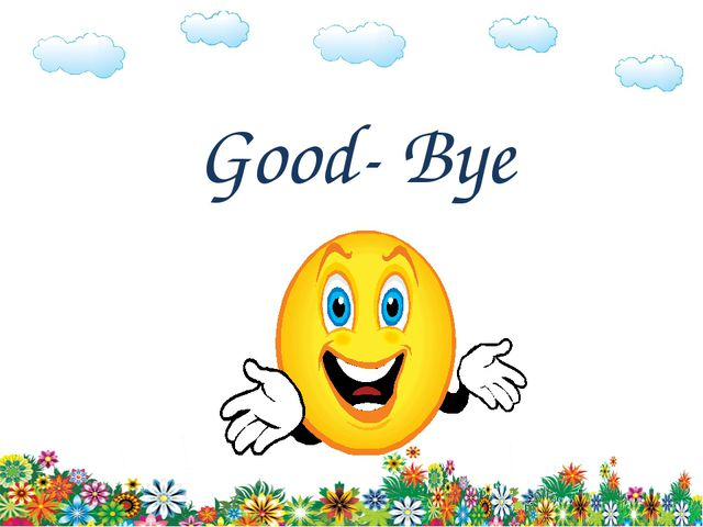 Good- Bye