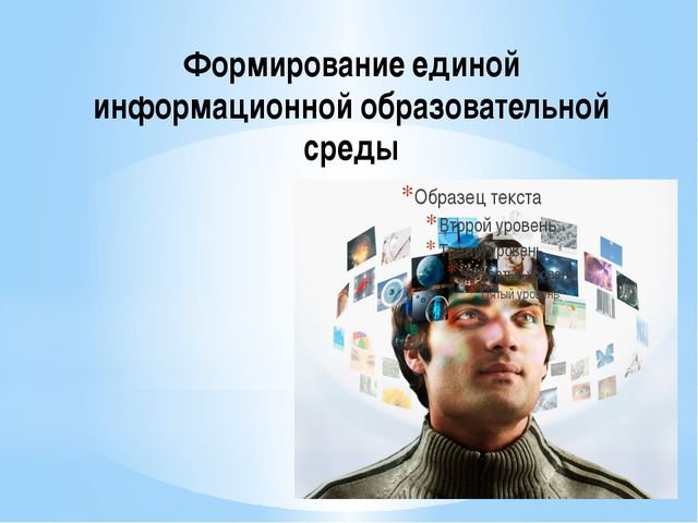 Формирование единой информационной образовательной среды