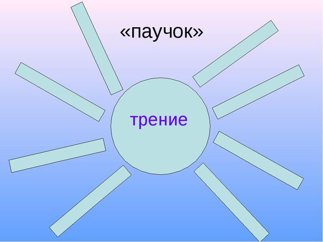 «паучок» трение