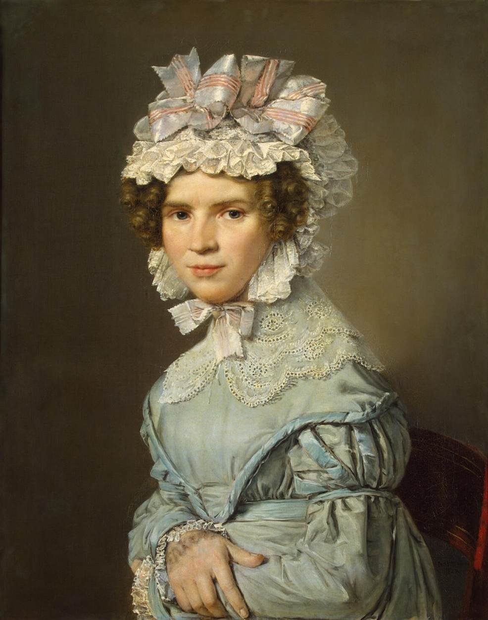 http://upload.wikimedia.org/wikipedia/commons/e/e6/Portrait_of_a_Lady_in_Blue_Dress_%28Christian_Albrecht_Jensen%29.jpg