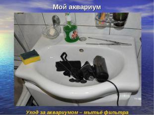 Мой аквариум Уход за аквариумом – мытьё фильтра 11.1211.12