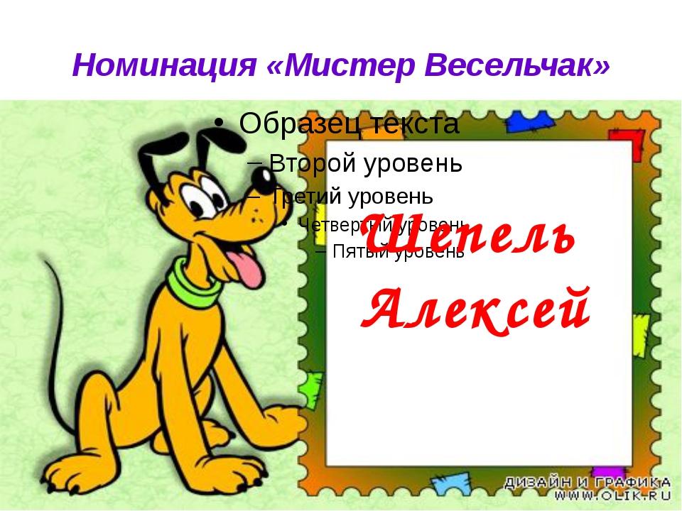 Номинация «Мистер Весельчак» Шепель Алексей