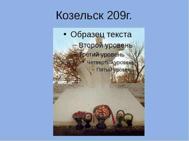 Козельск 209г.