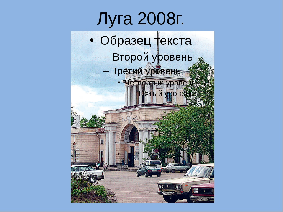 Луга 2008г.