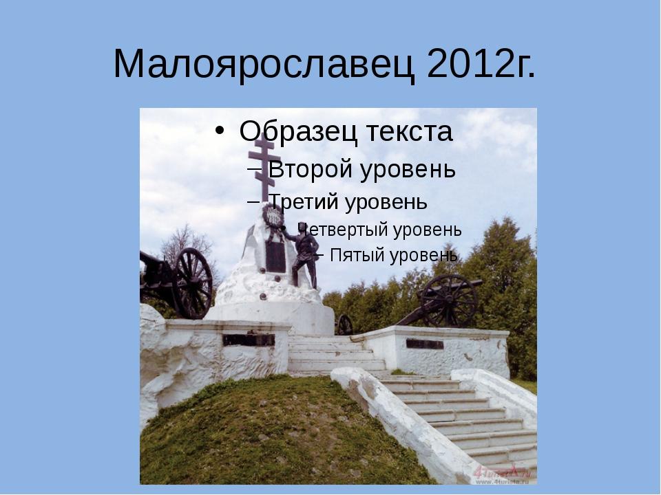 Малоярославец 2012г.