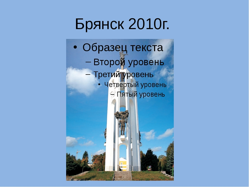 Брянск 2010г.