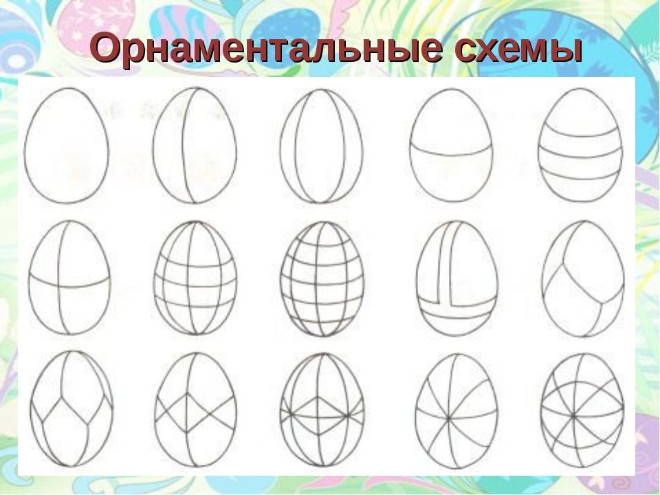 Орнаментальные схемы