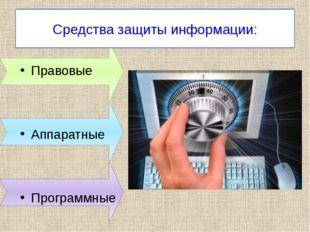 Аппаратный уровень Назад Основные средства средства контроля доступа средства