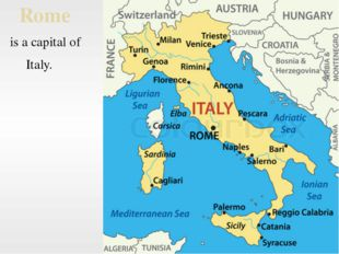 Rome is a capital of Italy.