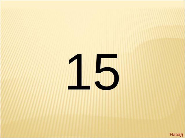 15 Назад