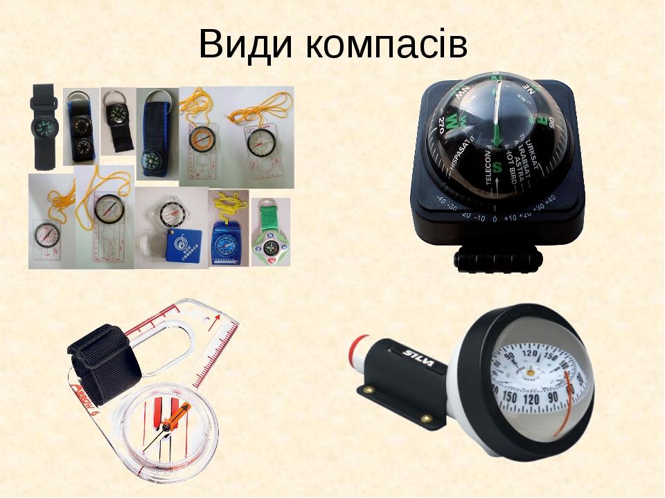 Види компасів