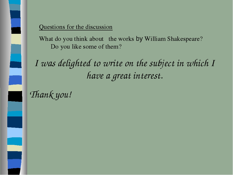 I was delighted to write on the subject in which I have a great interest. Tha...
