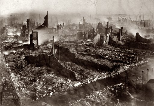 Great Boston Fire of 1872 (II) Shorpy Historic Picture Archive