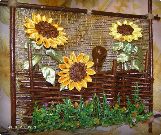 Картина, панно, рисунок, Мастер-класс Коллаж, Плетение: Панно