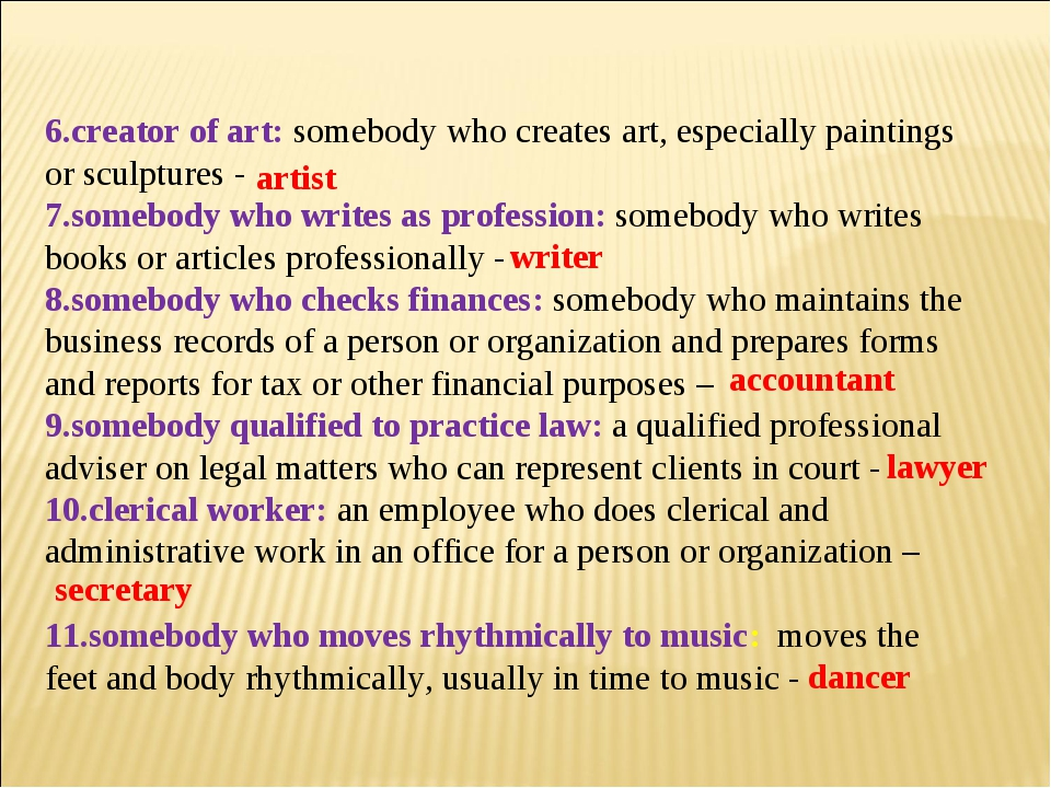 6.creator of art: somebody who creates art, especially paintings or sculpture...