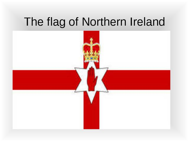 The flag of Northern Ireland