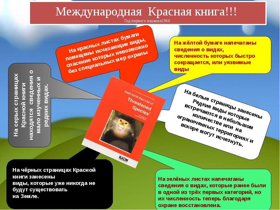 На чёрных страницах Красной книги занесены виды, которые уже никогда не буду...