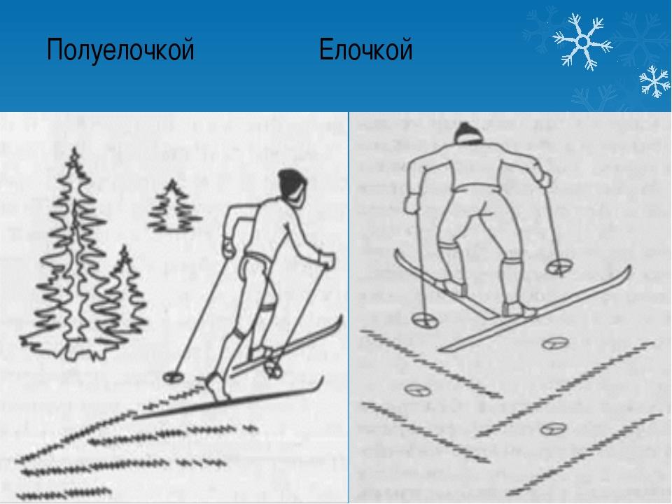 Полуелочкой Елочкой