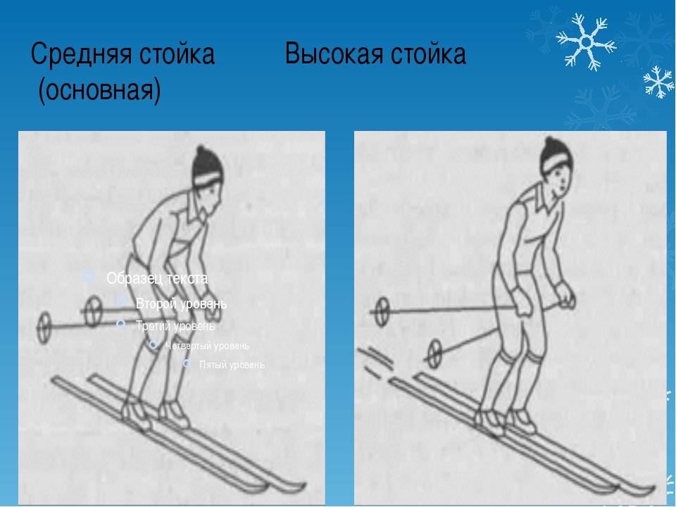 Средняя стойка Высокая стойка (основная)