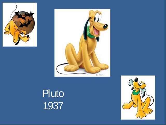 Pluto 1937