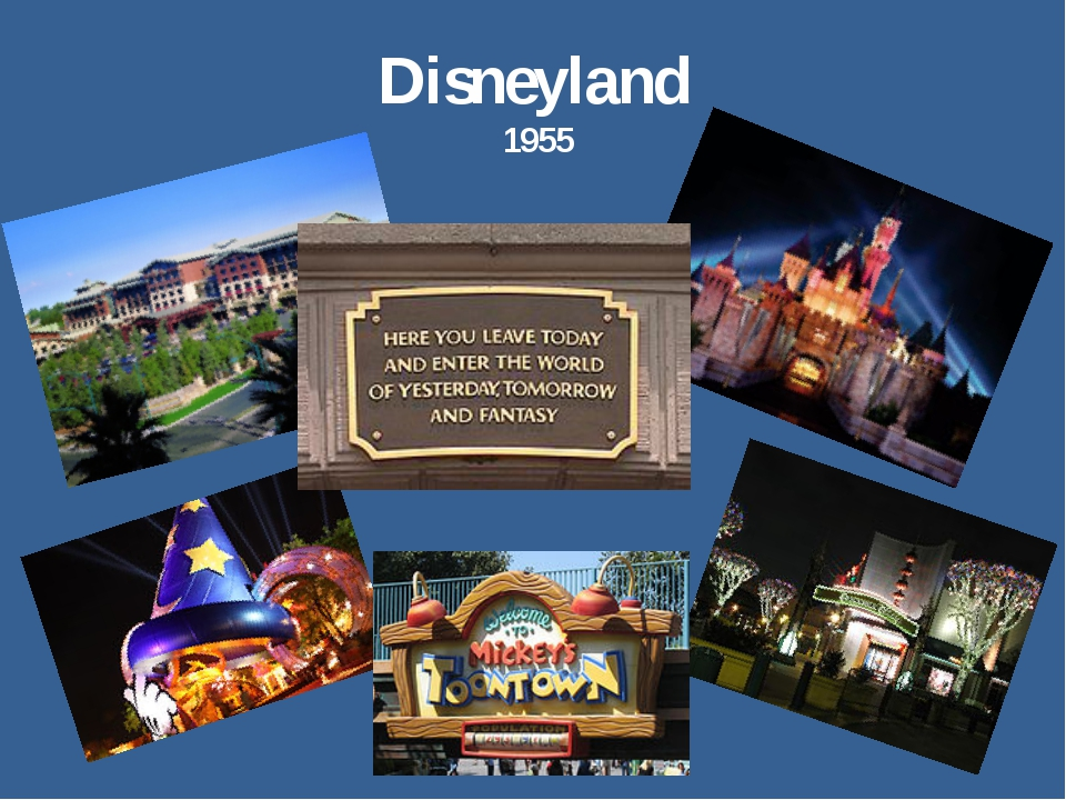 Disneyland 1955