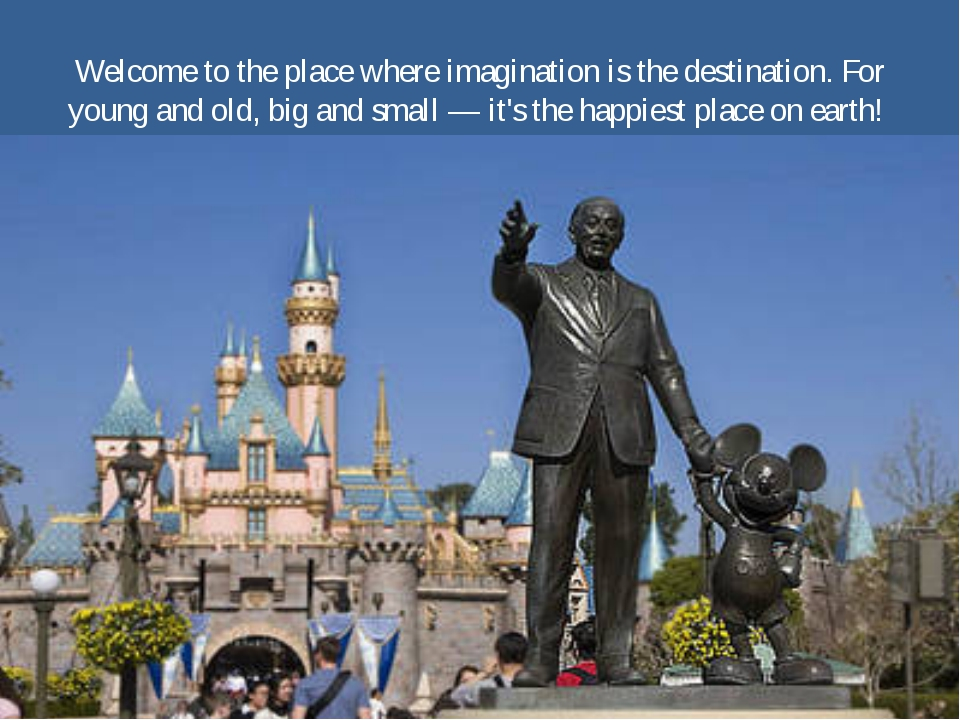 Welcome to the place where imagination is the destination. For young and old,...