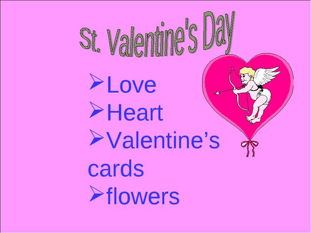 Love Heart Valentine's cards flowers