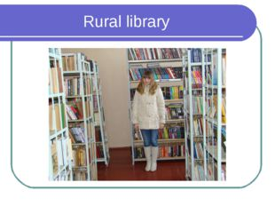 Rural library