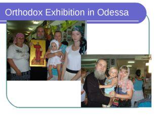 Orthodox Exhibition in Odessa