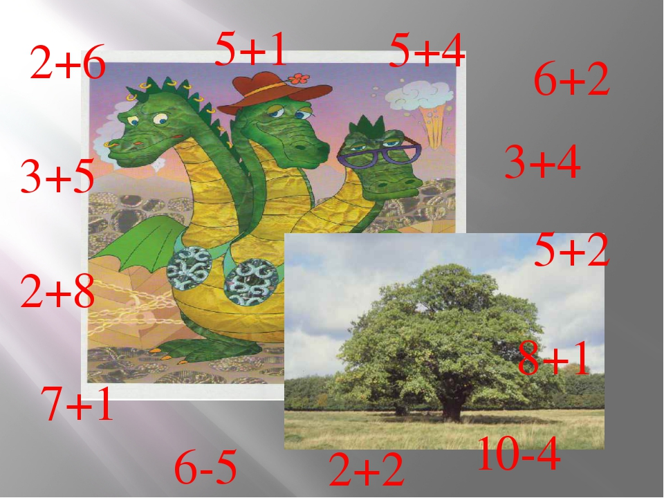 3+4 5+2 6+2 5+4 5+1 2+6 3+5 2+8 7+1 6-5 2+2 10-4 8+1