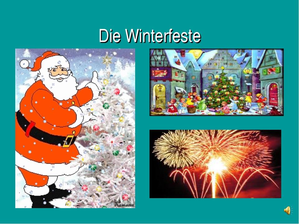 Die Winterfeste