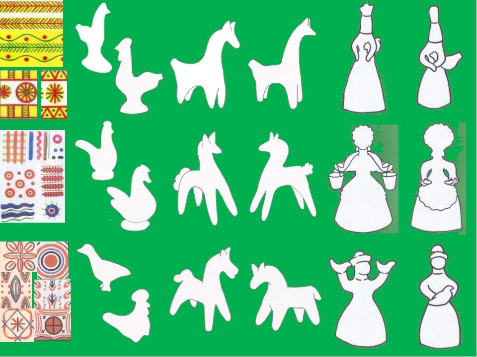 если каргопольская игрушка рисунок коллекция изготовлена