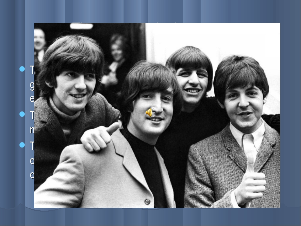 The greatest, the best… The Beatles are the greatest rock-n-roll group ever e...