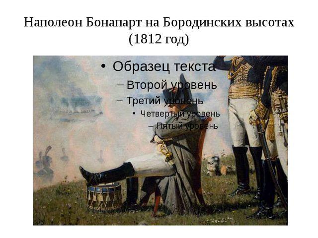 Наполеон Бонапарт на Бородинских высотах (1812 год)