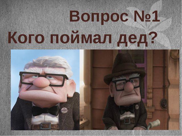 Вопрос №1 Кого поймал дед?