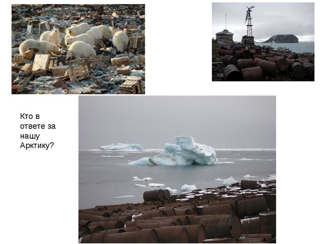 Кто в ответе за нашу Арктику?