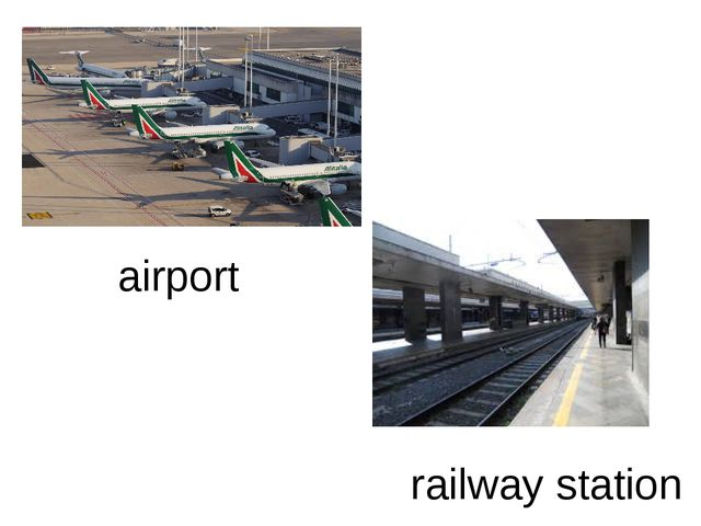 airport railway station