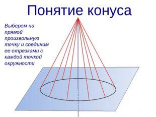 Выберем на прямой произвольную точку и соединим ее отрезками с каждой точкой