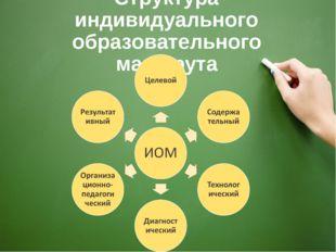 Структура индивидуального образовательного маршрута