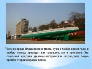 Есть в городе Владивостоке место, куда в любое время года, в любую погоду при