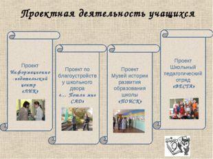 Проектная деятельность учащихся Проект Информационно-издательский центр «ЛИК»