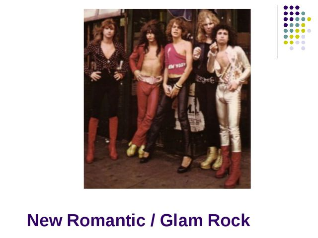 New Romantic / Glam Rock