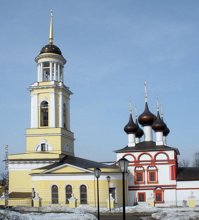 Московская область Чехов Лопасня Церковь Анны праведной Зача…