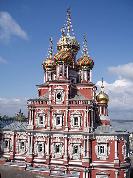 Здания каких архитектурных стилей можно увидеть в Нижнем Новгороде?