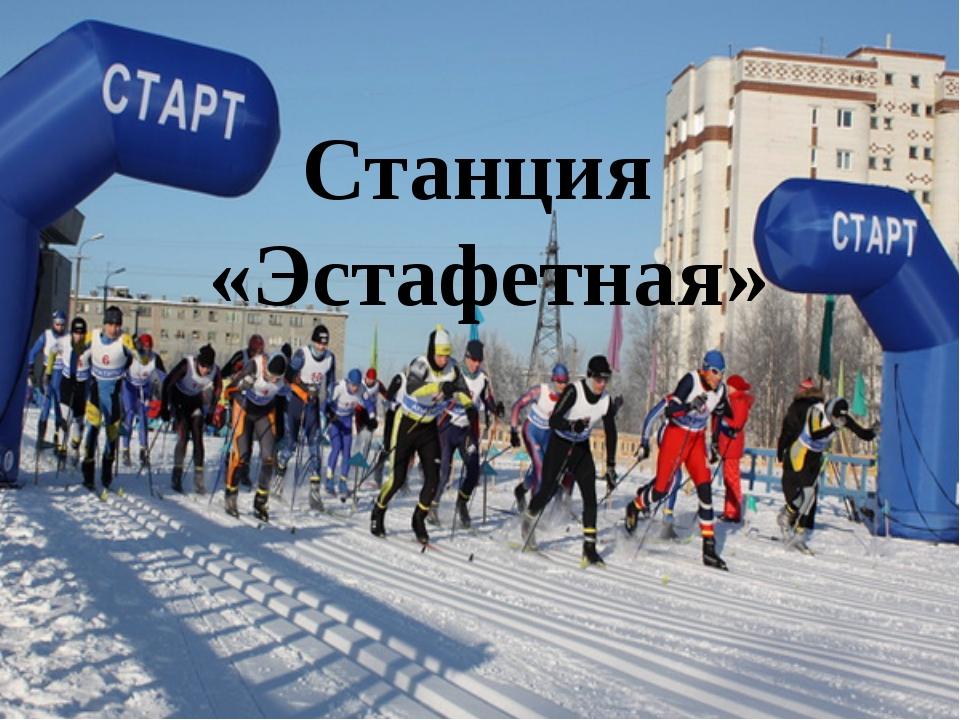 Станция «Эстафетная»