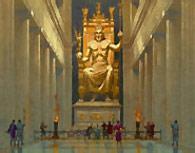 7 чудес света: статуя зевса олимпийского
