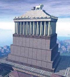 7 чудес света: галикарнасский мавзолей